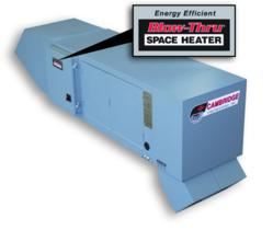 blowthru space heater 100 efficient space heater from cambridge engineering - Energy Efficient Space Heater