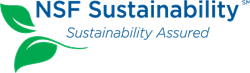 NSF Sustainability Logo