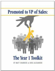 Promoted to VP of Sale - The Year 1 Toolkit