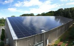 Nassau Tennis High Efficiency Solar Installation