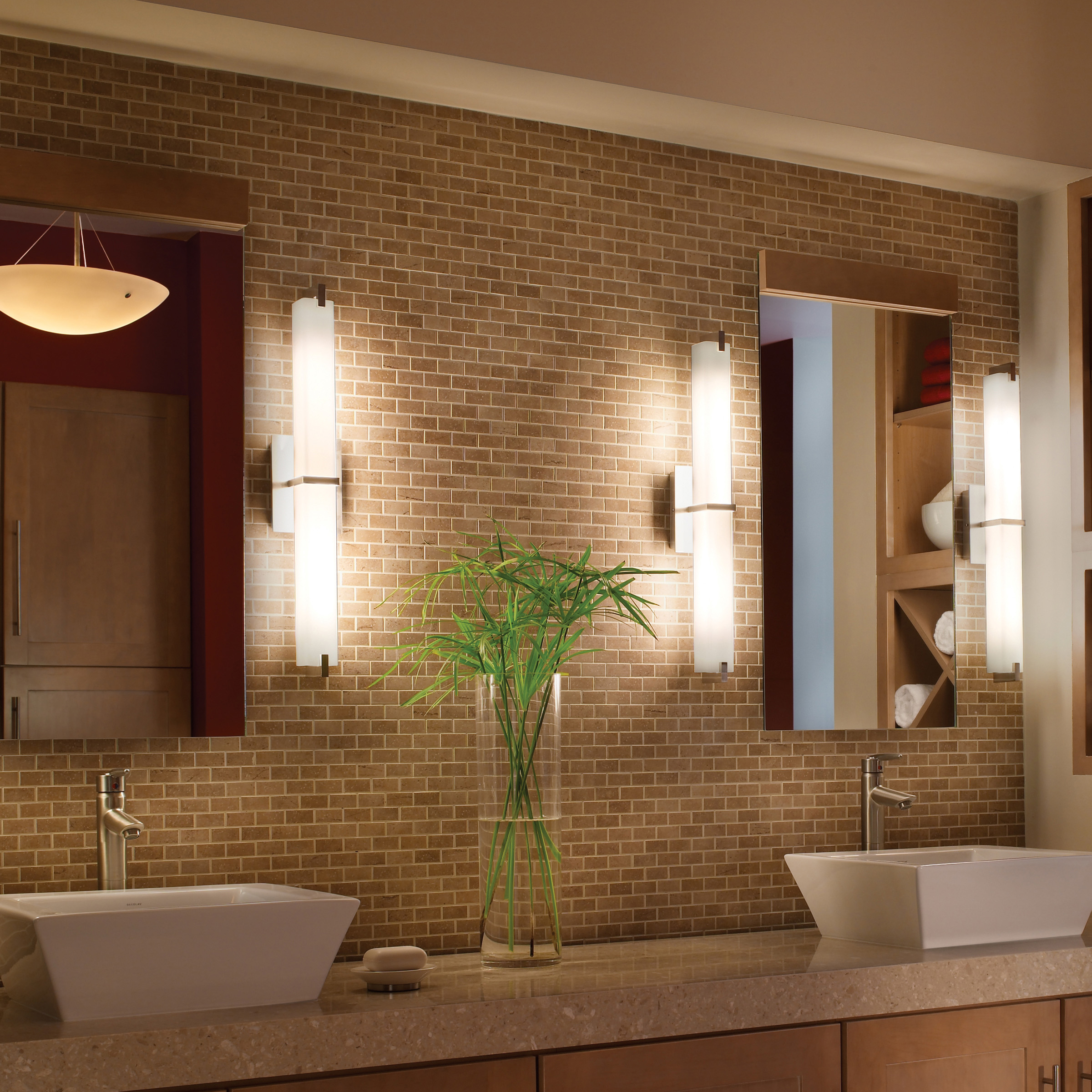 Highlights favorites for modern bath lighting - Images of bathroom vanity lighting ...
