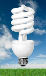 New CFL Light Bulb with Warm Light and Silent-Light technology.