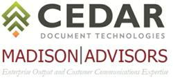 Cedar Document Technologies and Madison Advisors