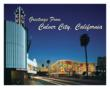 "Ed Massey Mural, ""Syncopation"" --  Culver City, CA, Night View"