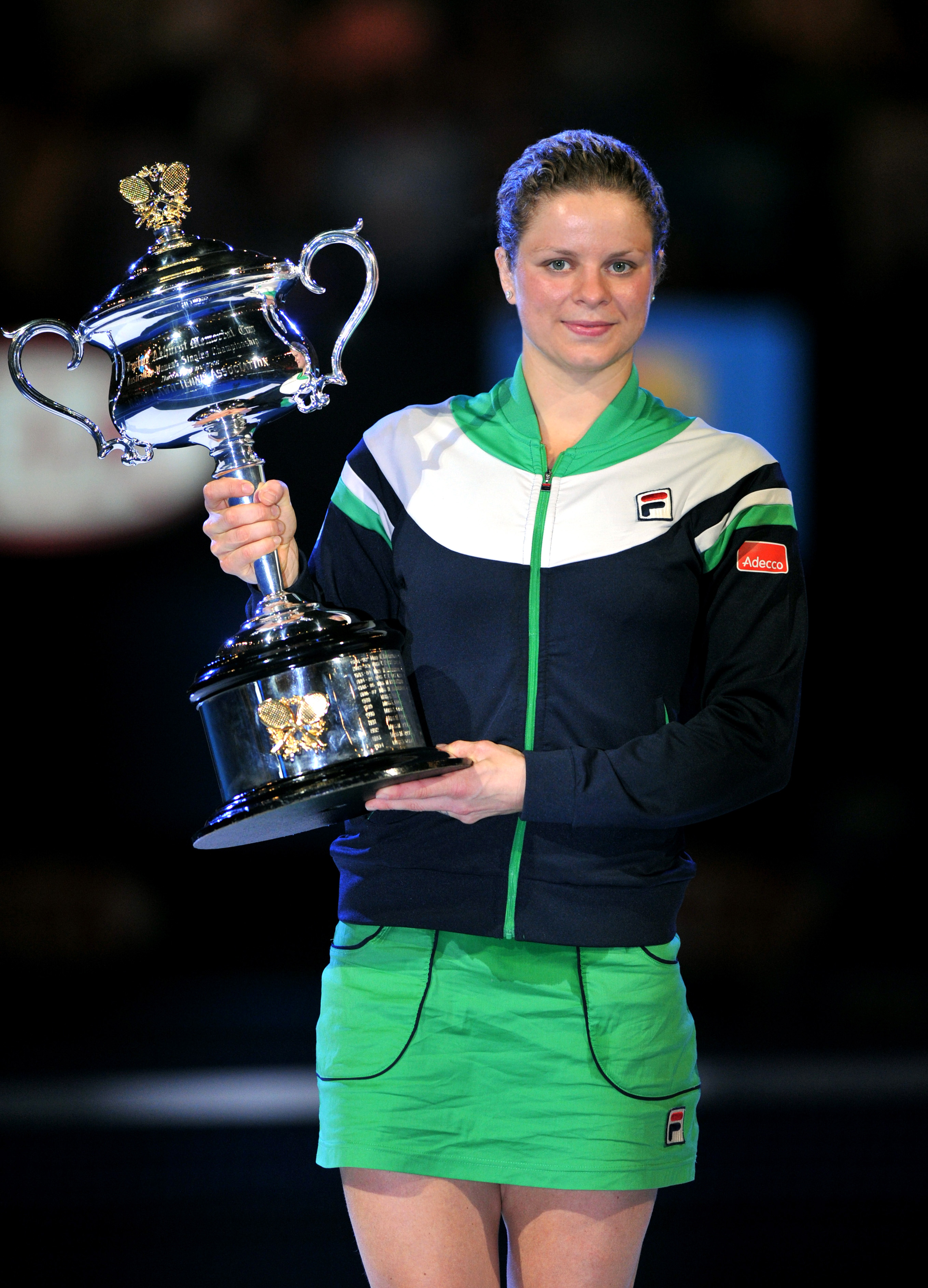 Fila Extends Agreements with Grand Slam Champions Kim Clijsters