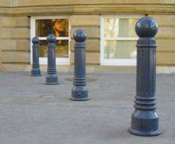 ductile iron bollards