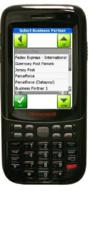 SmartTask Mobile Delivery on Honeywell D6000