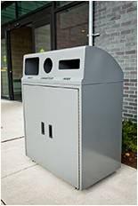 Busch Systems' Metal Recycling Bin