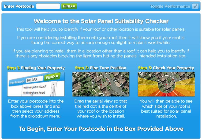 Solar Panels Uk Launches Solar Suitability Checker Tool