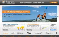 Qmarkets.net new website and branding