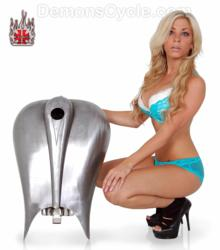 Demon's Cycle Stretched Gas Tank for Harley Baggers Dressers