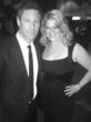 "Aaron Eckhart (Actor, ""Batman: The Dark Knight"") and Marjorie DeHey Daleo at the Palm Springs Film Festival"