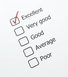 Market Target Receives Excellent Survey Rating