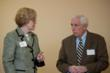 Congressman Frank Wolf and Sarah Newman, Director Connections for Hope