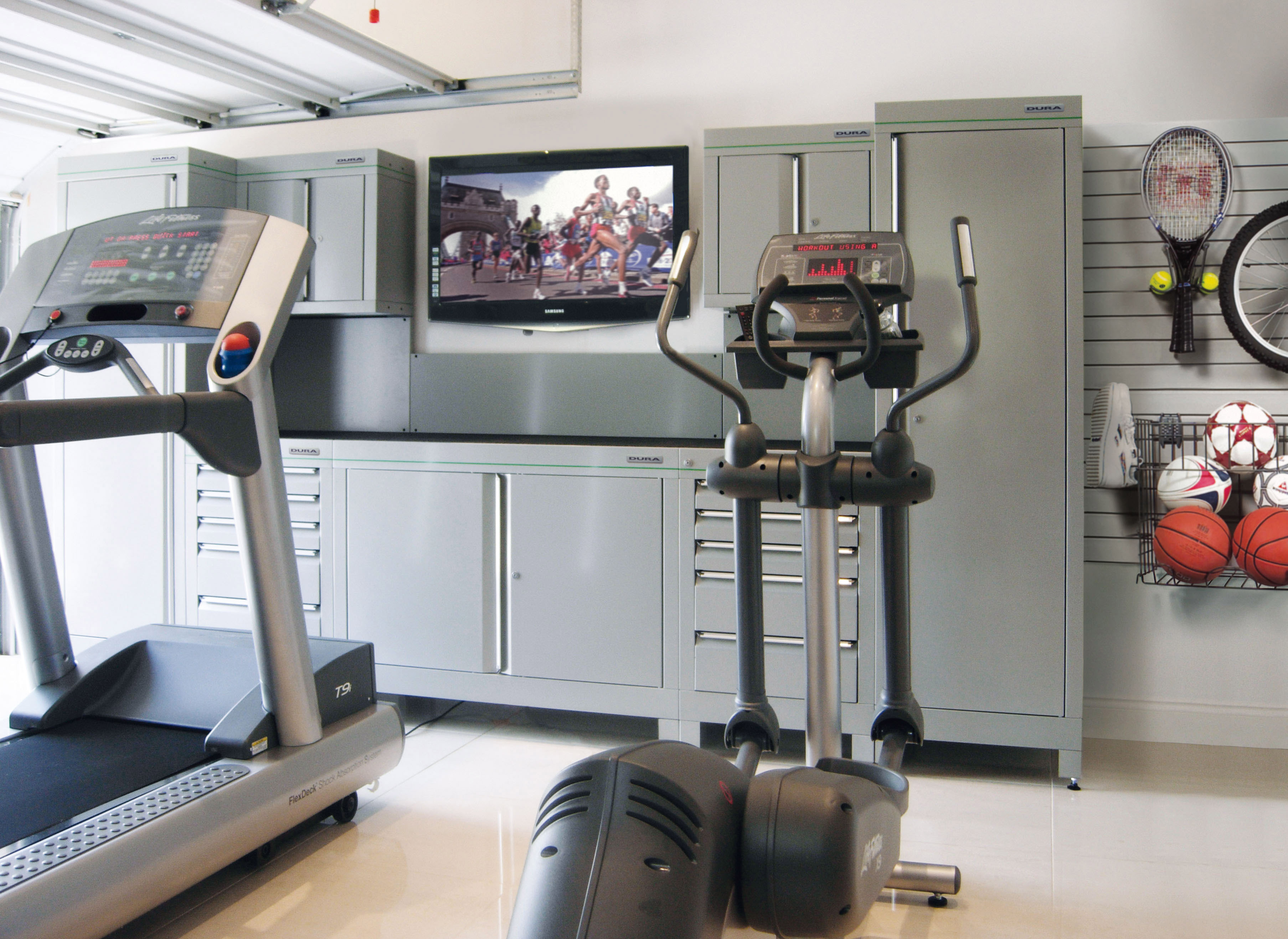 gym on pinterest garage gym home gyms and stalls