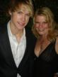 "Chord Overstreet (""Glee"") and Marjorie DeHey Daleo at Ari Emanuel's Oscar Party"