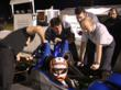 Gill Sensors Design Engineers Test the Fuel Flow Meter on an LMPC Race Car