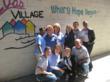 BD volunteer team takes a tour of Eva's Village during BBB