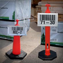 Warehouse Labels for Outdoor Applications from Camcode