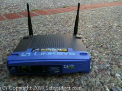 Safegadget.com Cisco Linksys Wireless Router