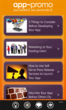 App-Promo articles page covering topics on app discovery
