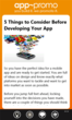 Sample article page from the App-Promo app