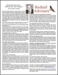 """Redtail Advisors White Paper: """"Business Execution - Making the Plan Happen"""""""