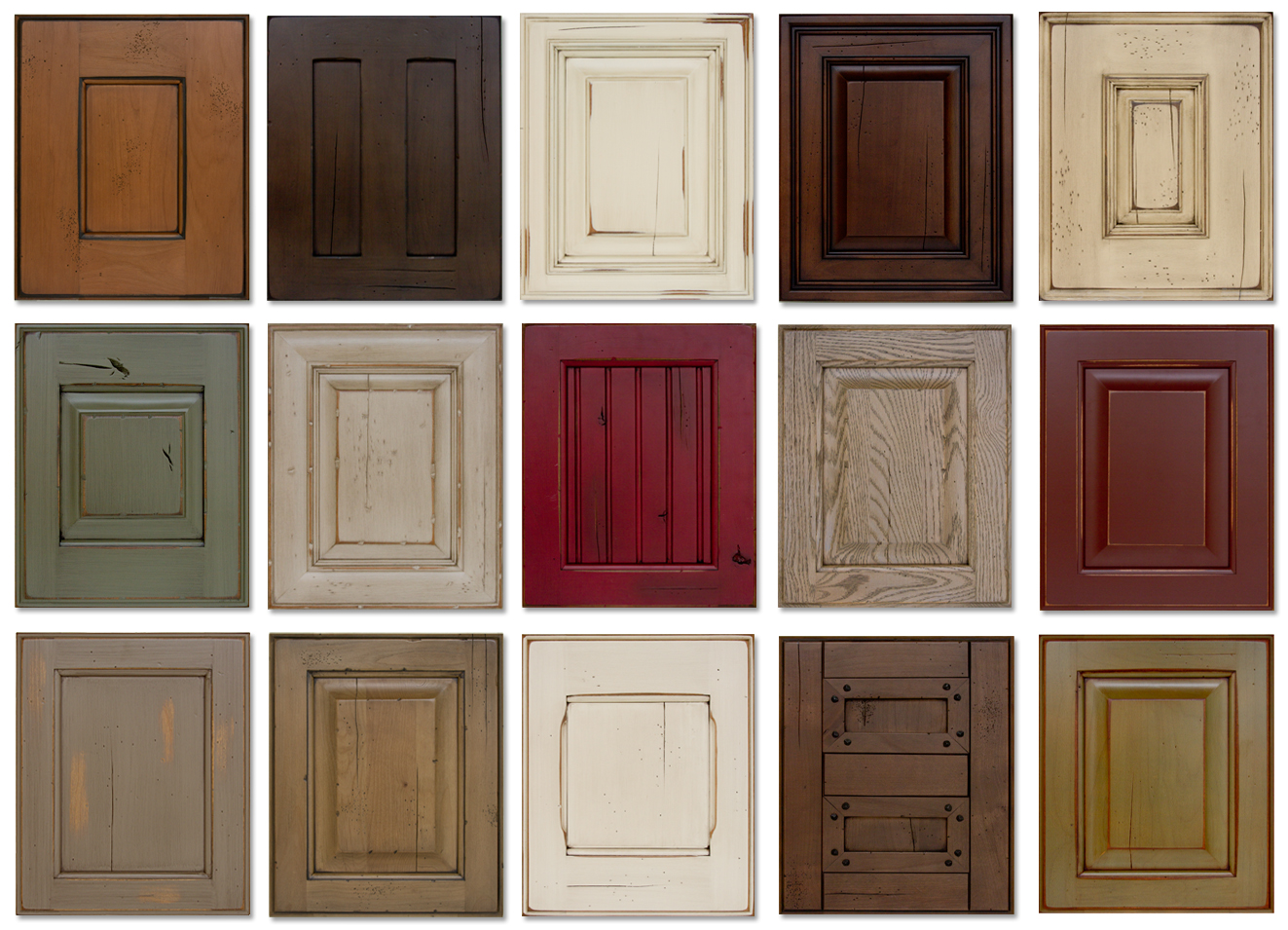 Kitchen Cabinet Stain Color Samples