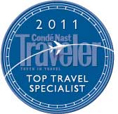 Cruise Specialists Top Travel Specialist Award