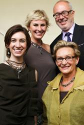Left to right: Alexandra, Kerstin, Konrad and Sabika Founder, Karin Mayr.