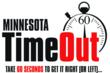 Logo for Time Out Campaign