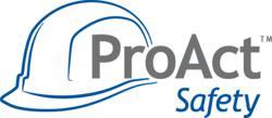 ProAct Safety hardhat logo