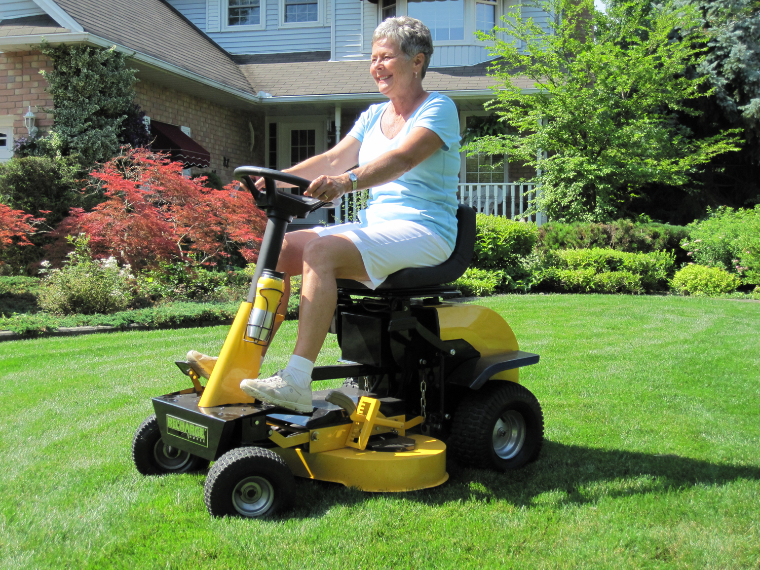 The New Recharge Mower G2 Riding Mower Is Cordless