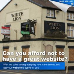 pub websites internet marketing