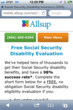 Free Social Security Disability Evaluation