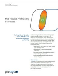 Mid - Project Profitability Scorecard for IT Solutions Provider