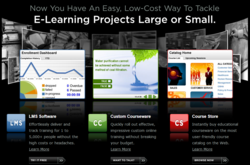 Intellum's learning management system website