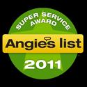 Anglies List Super Services Award 2011