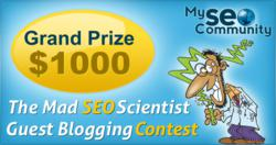 The Mad Scientist SEO Guest Blogging Contest