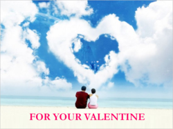 Pink Pashmina Valentine Gift