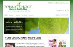 Botanic Choice Natural Health Blog