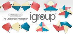 igroup (R) is the Origami of interaction (SM)