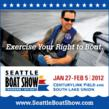 Exercise Your Right To Boat: Seattle Boat Show, January 27 - February 5, 2012
