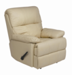 Alto Buff REC-516 Series Top Grain Leather Recliner by Stanley Chair