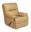 Alto Taupe REC-516 Series Top Grain Leather Recliner by Stanley Chair