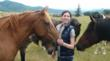 "Teen author Alexandra Gritta writes about horses to help them, donating the profit from her children's book, ""Mystery at Silver Key Stables,"" to organizations that rescue and provide safe habitats for horses. Available at Amazon.com and Powells.com. (Photo credit: Charity Book Series®, Inc.)"