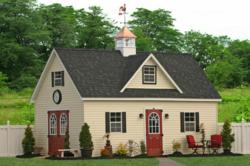 Two-Story Barn or Storage Shed MD