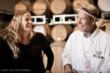 Prema Behan of Three Sticks Winery works alongside Chef Willie Cooper (copyright Jak Wonderly)