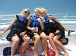 Parasailing on The Gulf Coast