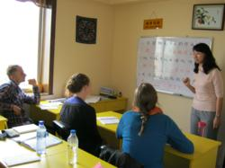 Small Group Chinese Class at Keats School